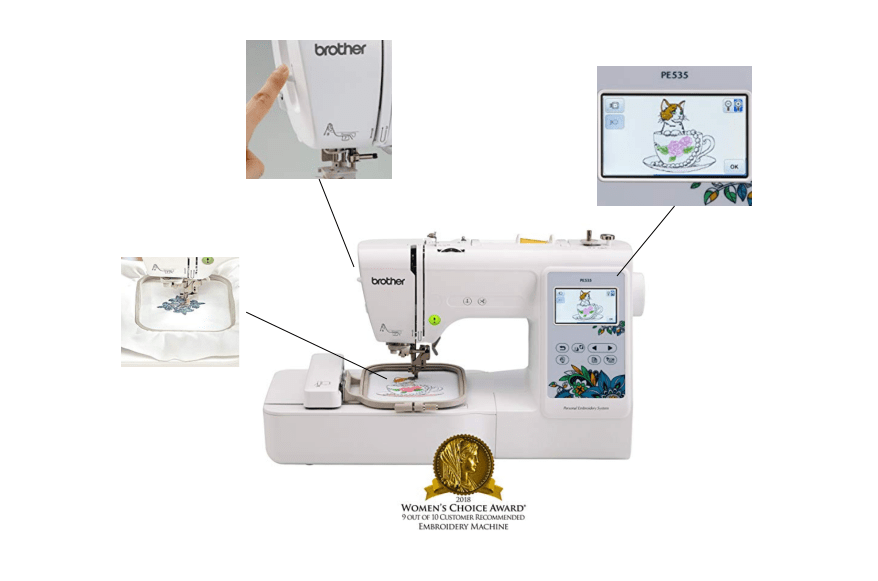 best beginner embroidery machine for monogramming