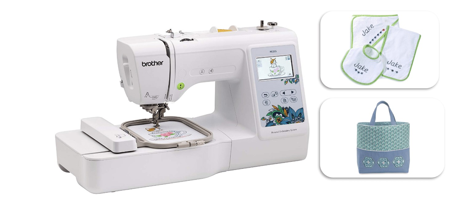 brother pe535 embroidery machine review