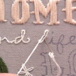 How to Hand Embroider Letters