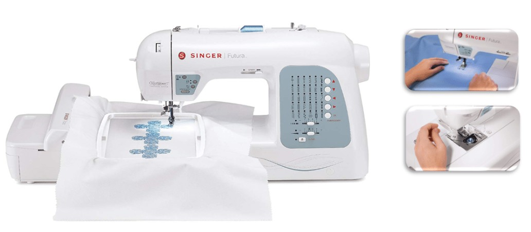 best Singer home embroidery machine for hats