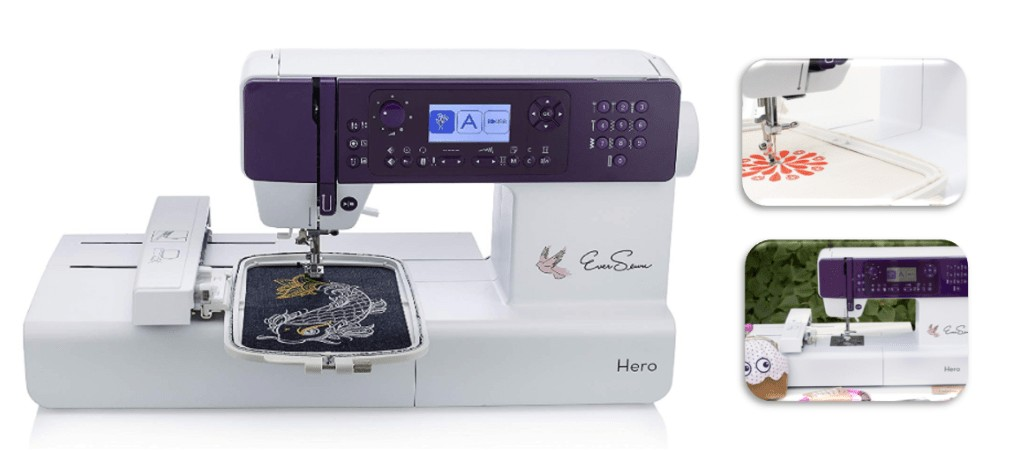 best monogram embroidery machine for the portable