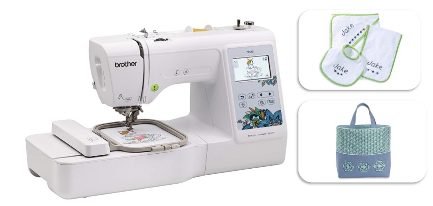 best portable embroidery only machine for home use