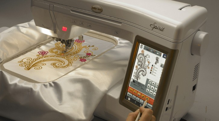 Babylock embroidery machine brand