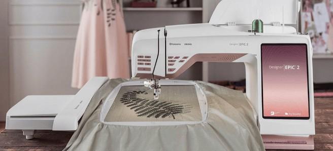 Husqvarna brand embroidery machine