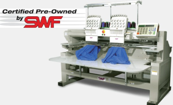 SWF embroidery machine