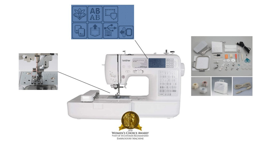 best easy to use embroidery machine
