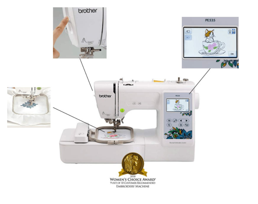 best monogram embroidery machine for beginners