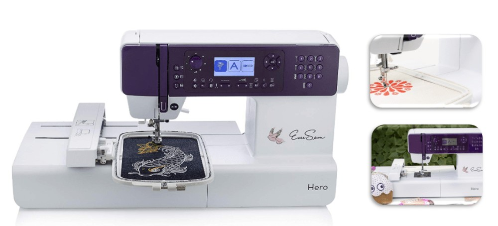 best editing embroidery sewing machine for beginners