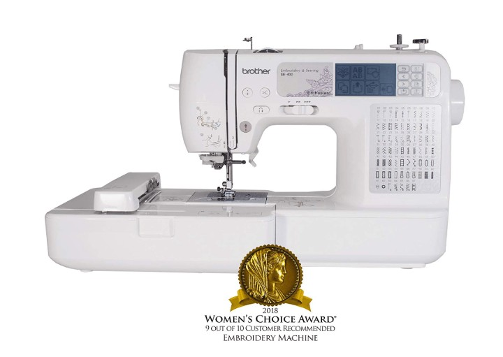 best brother computerized embroidery and sewing machine