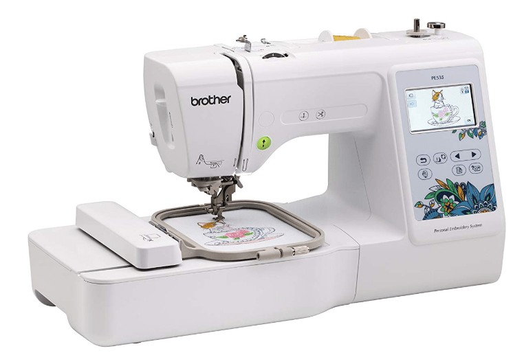 best brother PE535 embroidery machine