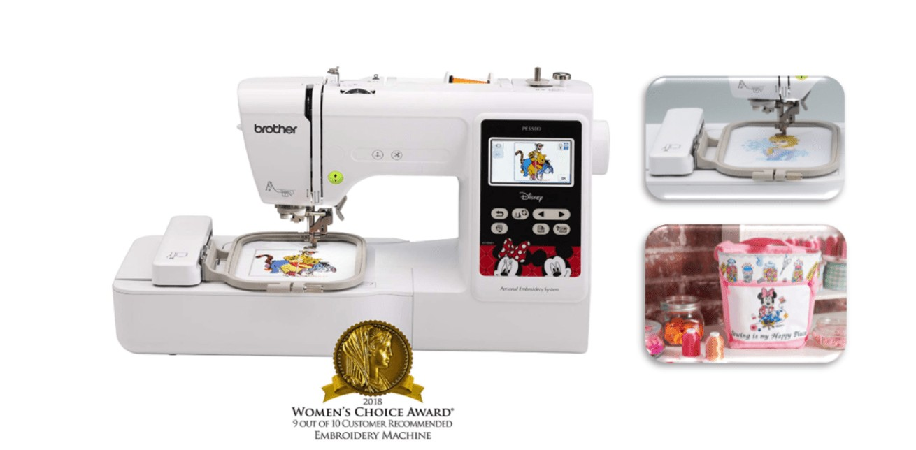 best disney cheap embroidery machine