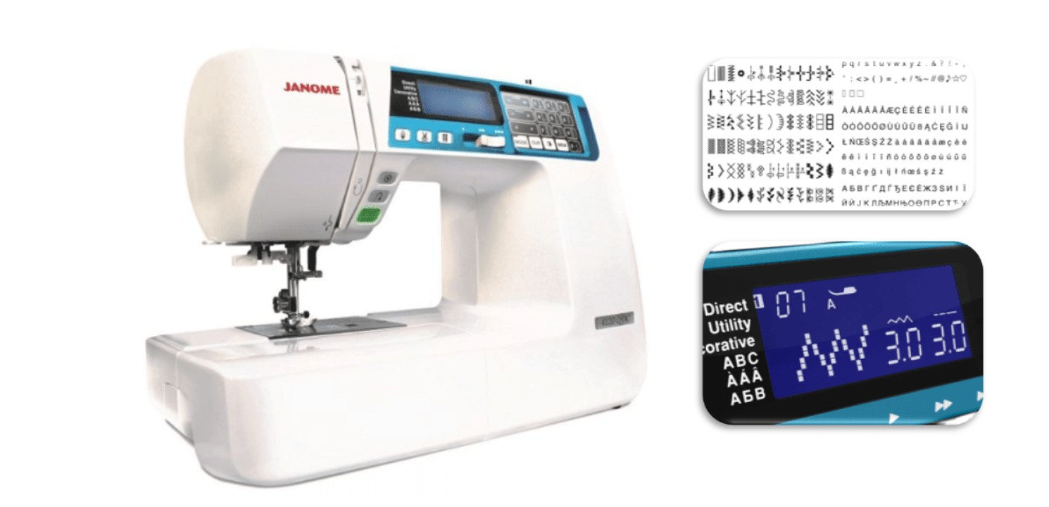 Best computerized embroidery and sewing machine for quilting