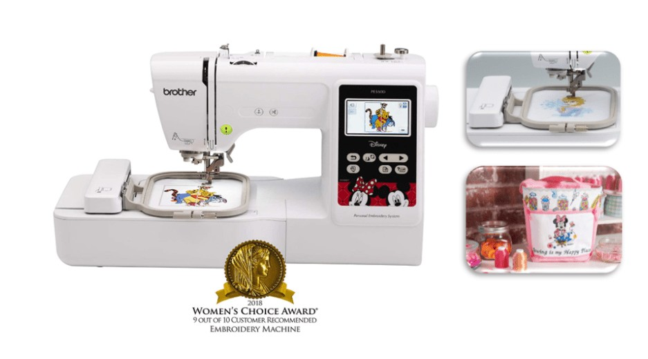 best disney embroidery machine