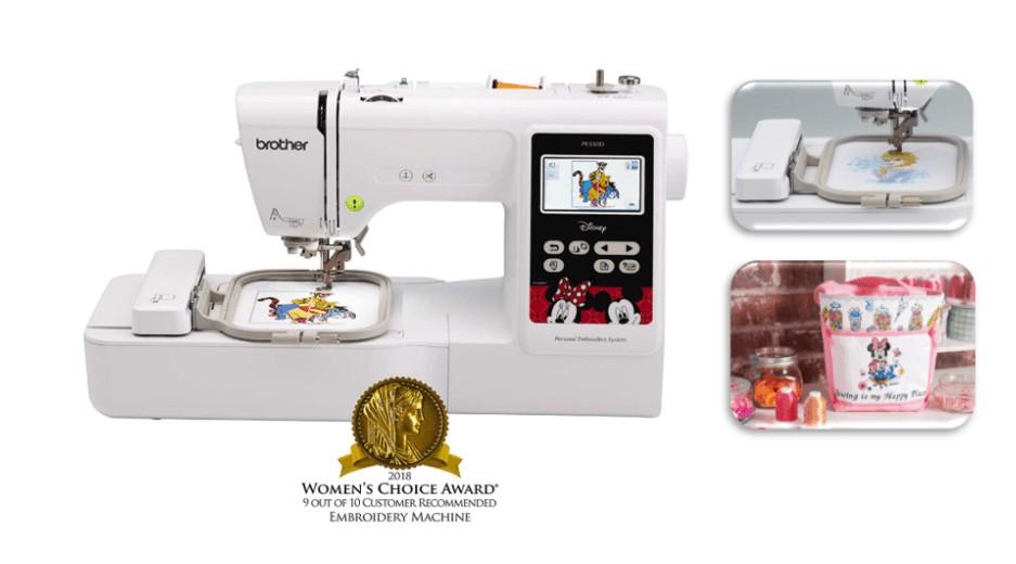 best disney embroidery machine