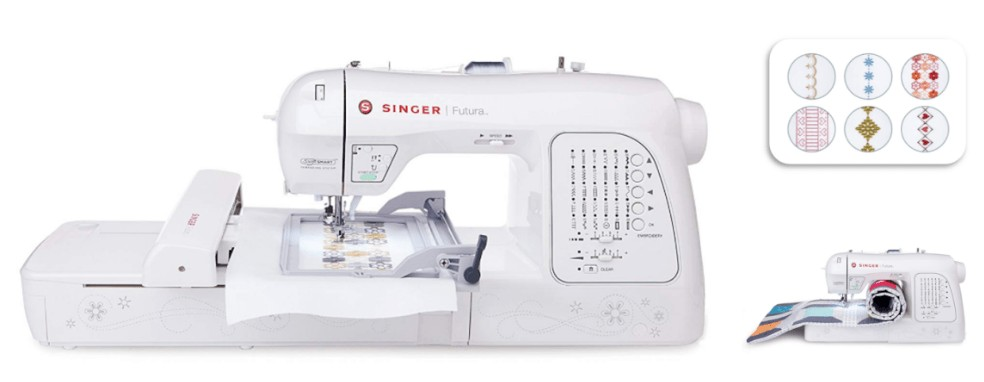 best beginner embroidery sewing machine for home use