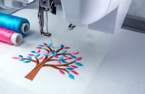 used home embroidery machine