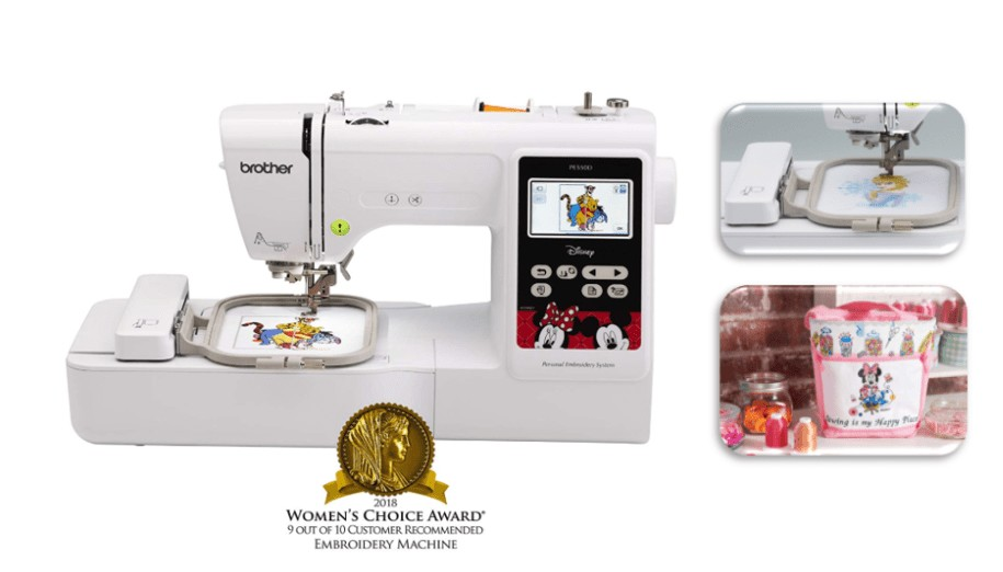 best disney embroidery machine for logos