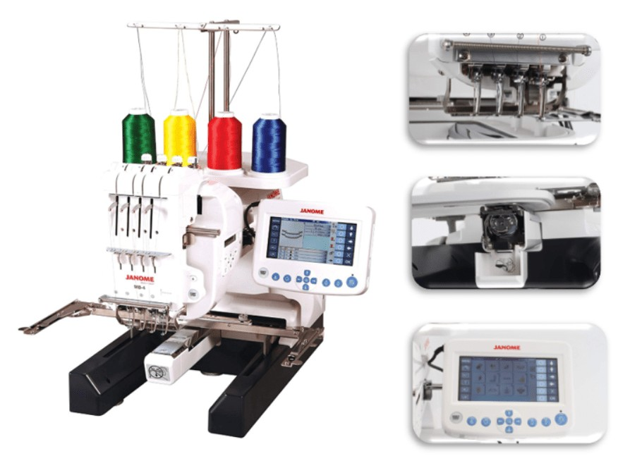 best multi needle embroidery machine for home business
