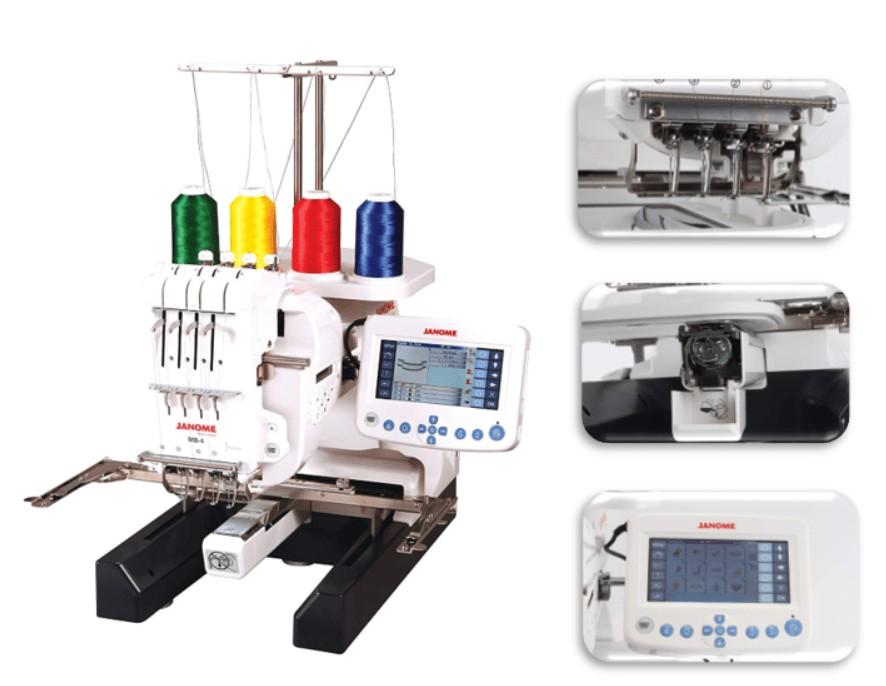 best janome multi needle embroidery machine
