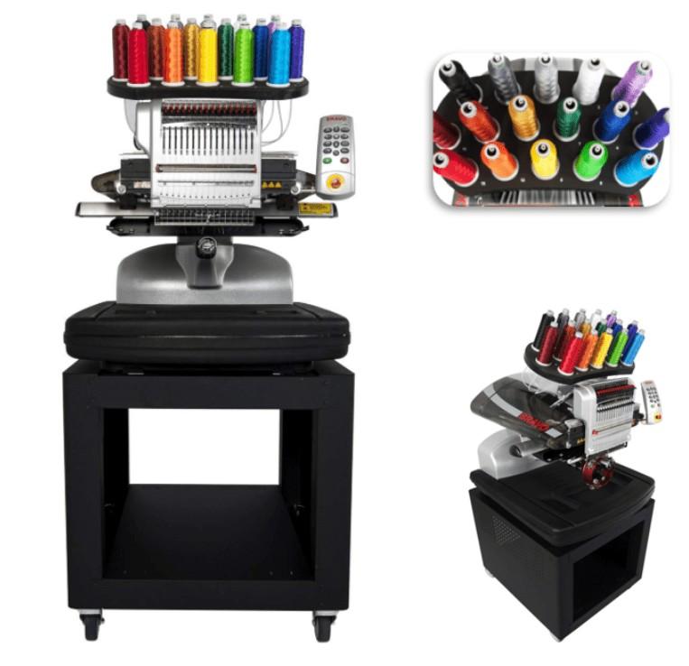 best professional multi needle embroidery machine