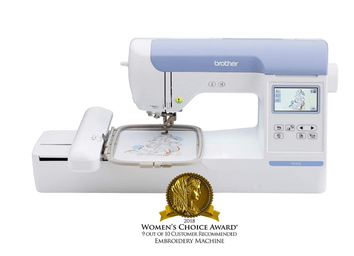 the best small embroidery machine