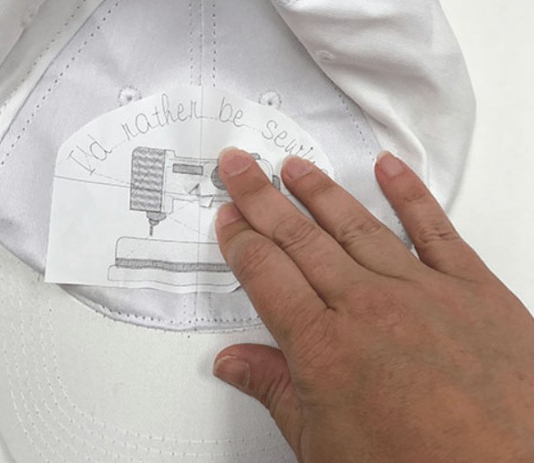 choosing a design for embroidery on hats