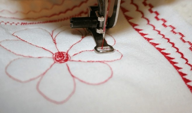 embroidery and sewing machine design