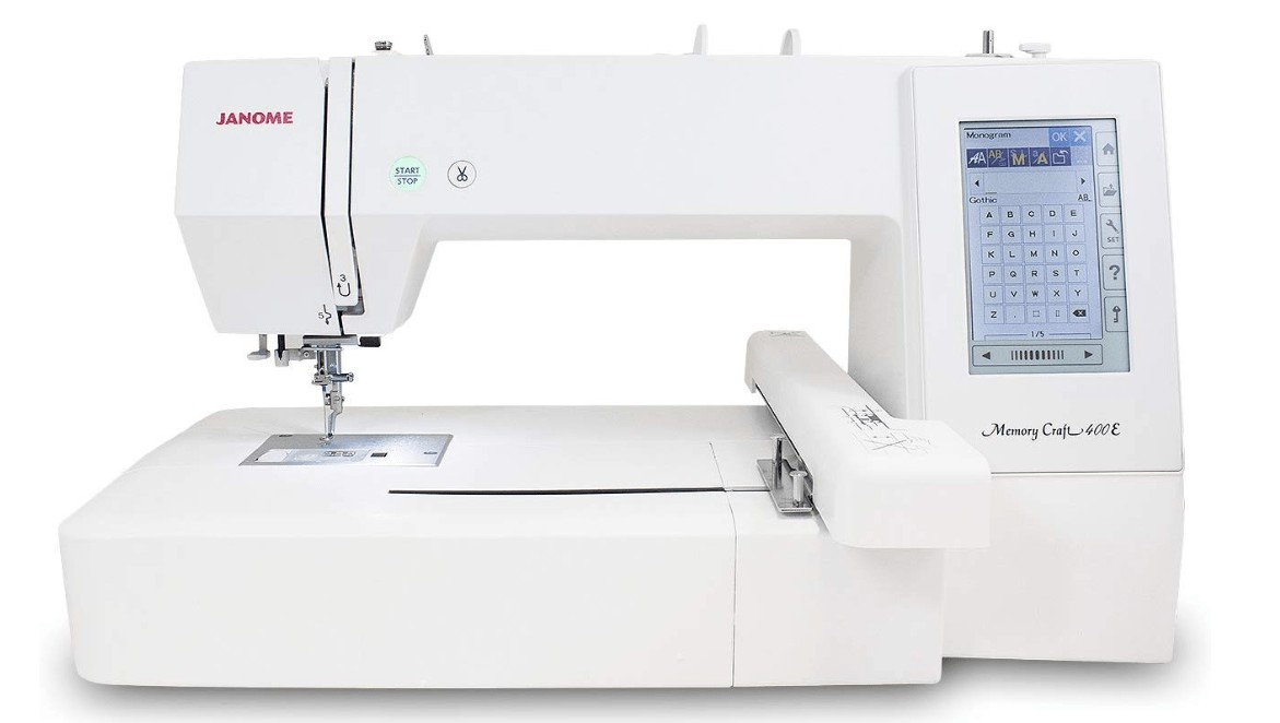 large embroidery machine