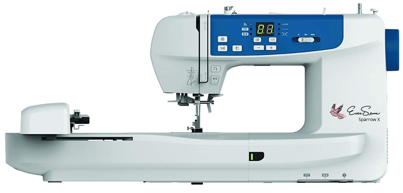 best embroidery and sewing machine under 1500