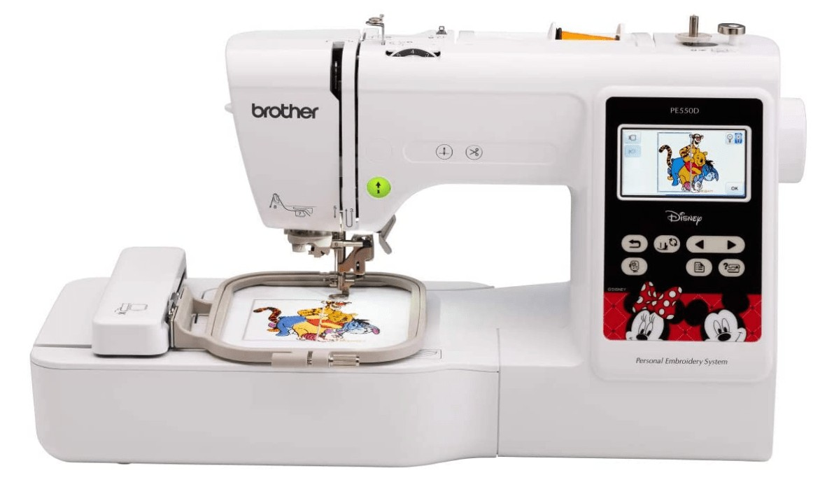 best disney affordable embroidery machine