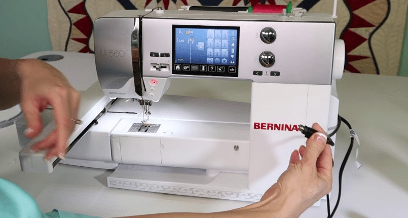 set up computerized sewing machine for beginners