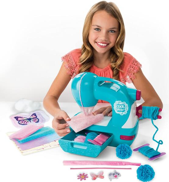 kids play sewing machine