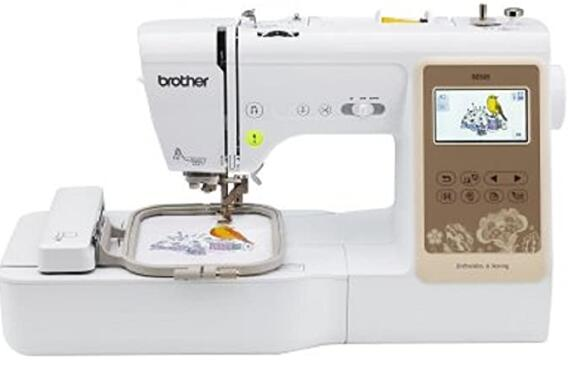 2 in 1 embroidery machine