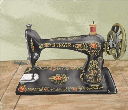 vintage sewing machine worth