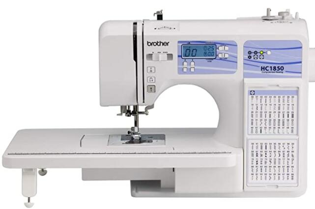 computerized sewing and embroidery machines