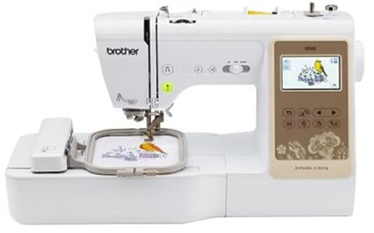 embroidery and sewing machine combo