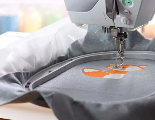 sewing machine with embroidery capabilities