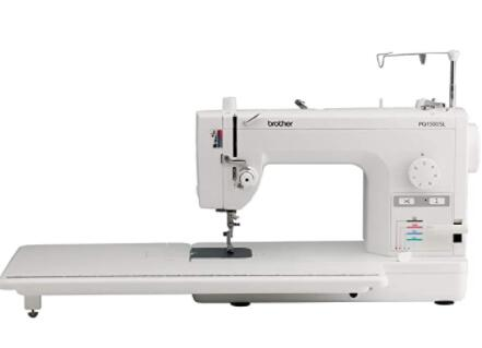computerized sewing machine for large design
