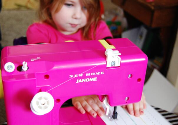 how to choose first sewing machine for child