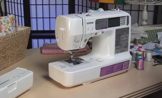 how to set up brother sewing and embroidery machine