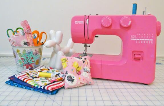 pink swing machine