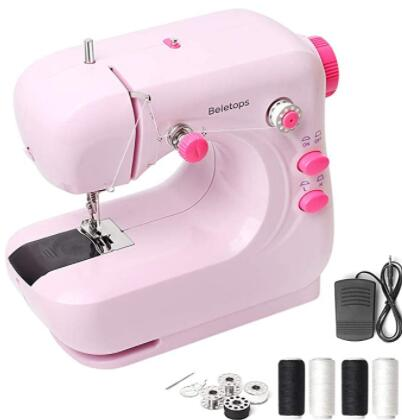 pink machine for sewing