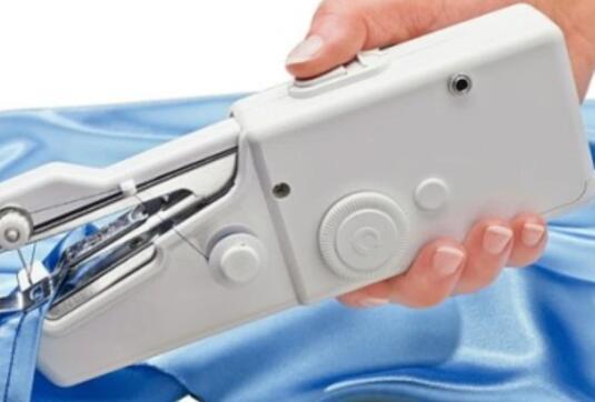 handheld sewing machine not stitching