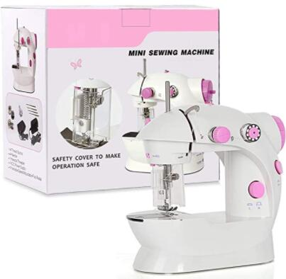 compact pink sewing machines