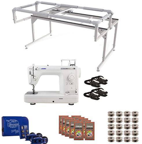 recommended long arm quilting machine sets