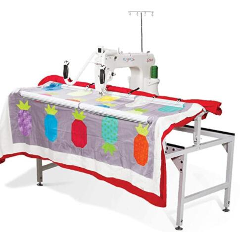 long arm quilting and sewing machine