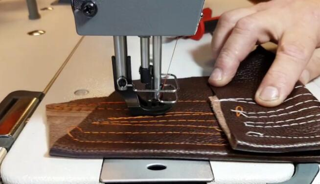 sewing machine for leather upholstery