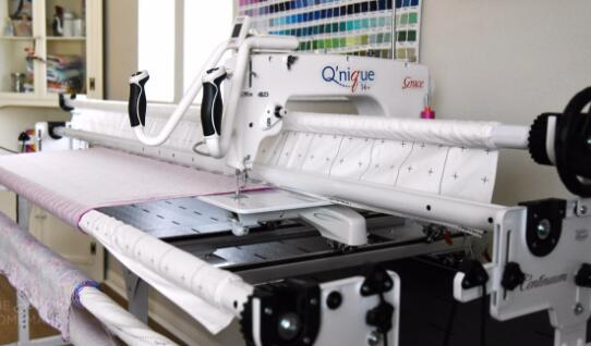 table top long arm quilting machine