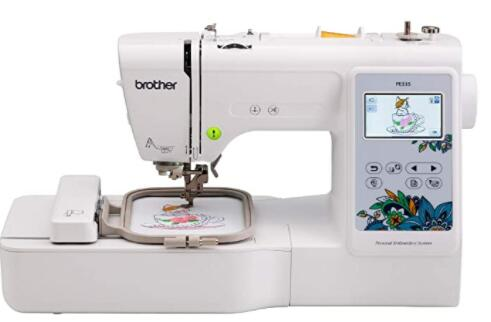 sewing machine for quilting and monogramming