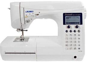 Juki computerized sewing machine with hard case